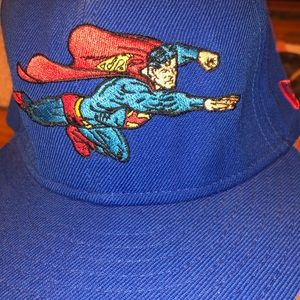 NWOT DC COMICS KIDS SUPERMAN HAT SEE PICTURES